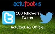 100 followers sur Twitter